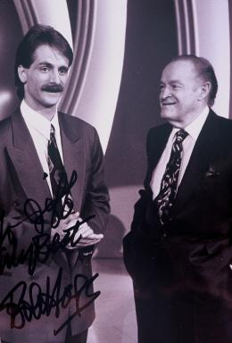 One of my most cherished photos. With Mr. Bob Hope.