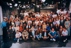 Takes more than one or two people to make a television show.