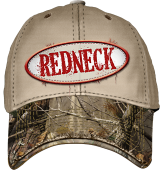 Redneck Hat with Camo Bill
