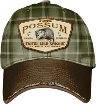 Possum Tastes Like Chicken Hat