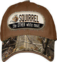 Squirrel, The Other White Meat Hat
