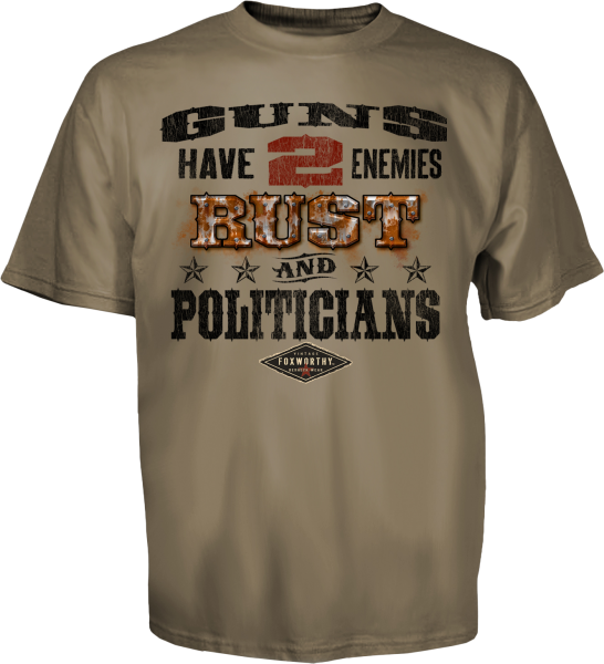 Guns Have Two Enemies Tee Front