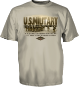 US Military Tee Back