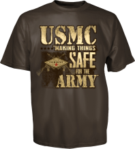 United States Marine Corps Tee, Back