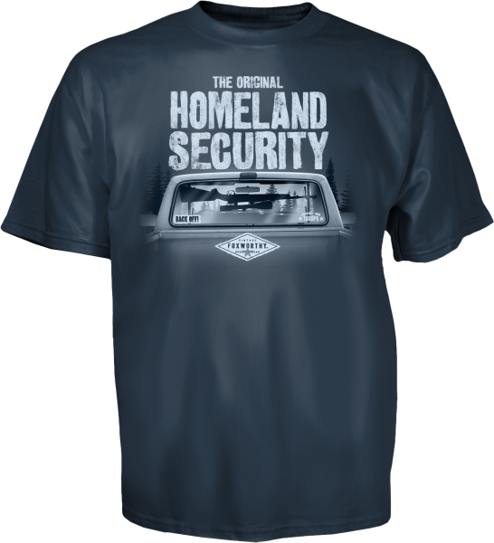 The Original Homeland Security Tee, Back
