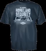 The Original Homeland Security Tee, Back