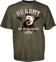 U.S. Army Tee, Back