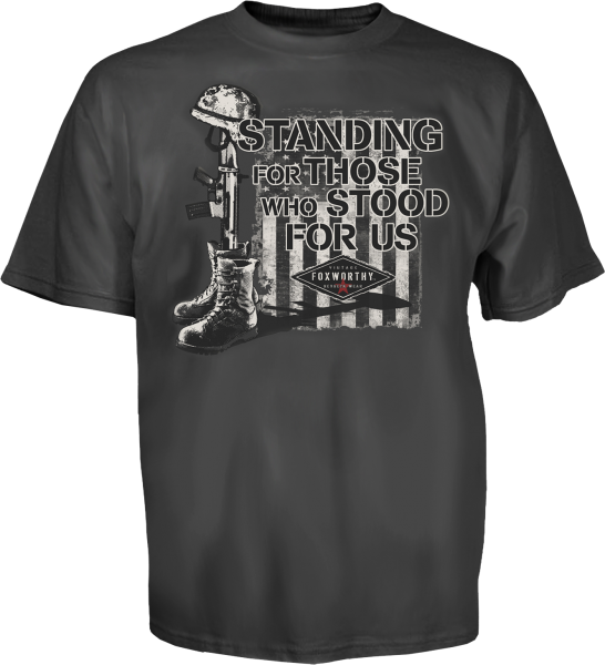 Standing For Those Who Stood For Us Tee, B