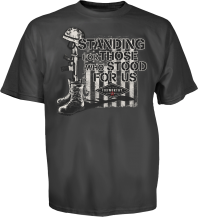 Standing For Those Who Stood For Us Tee, Back